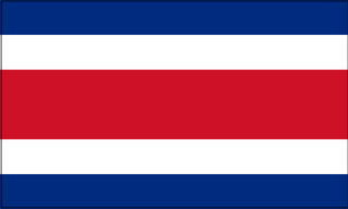 Costa Rica civil flag