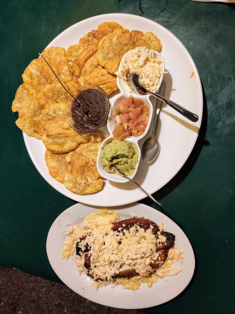 Costa Rica Patacones plantains frites