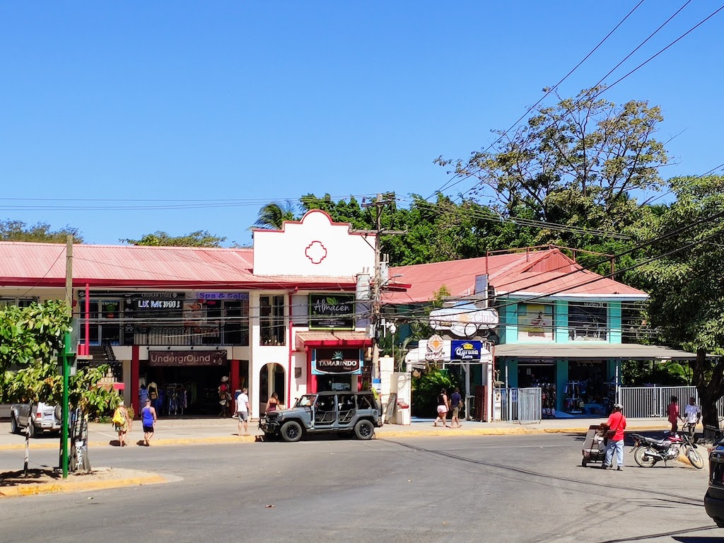 Costa Rica Tamarindo Rue principale
