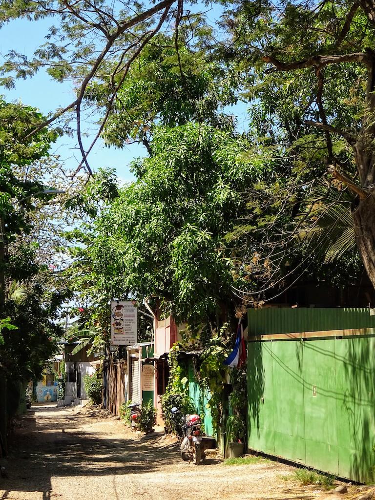 Costa Rica Tamarindo Rue en terre