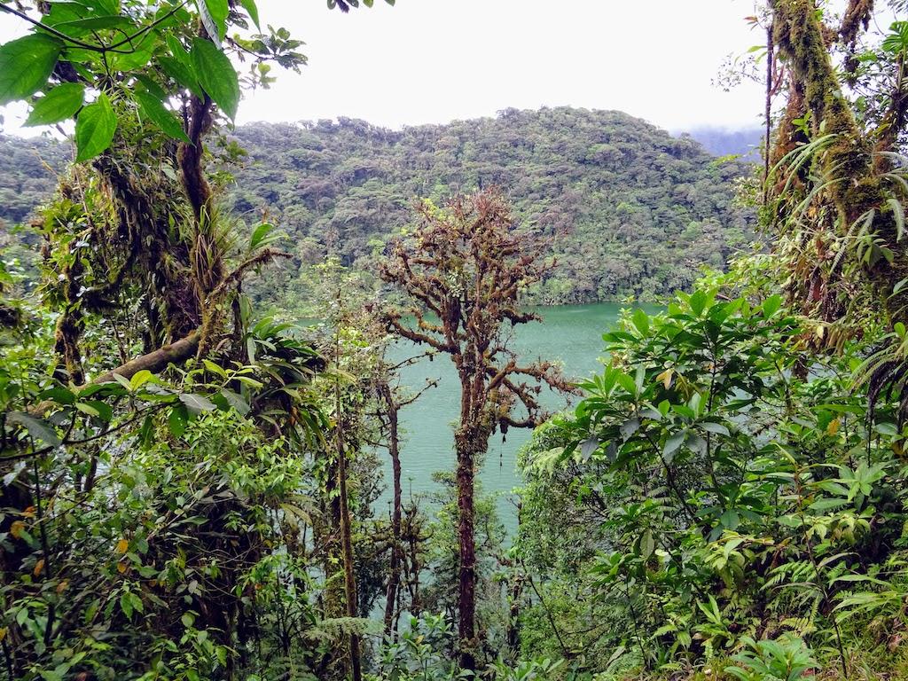 Costa Rica Arenal Cerro Chato trail cratere 1