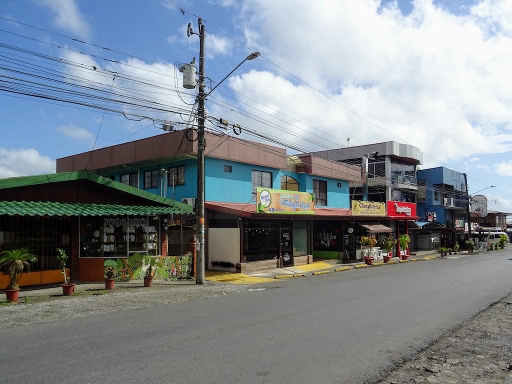 Costa Rica Arenal La Fortuna town 6