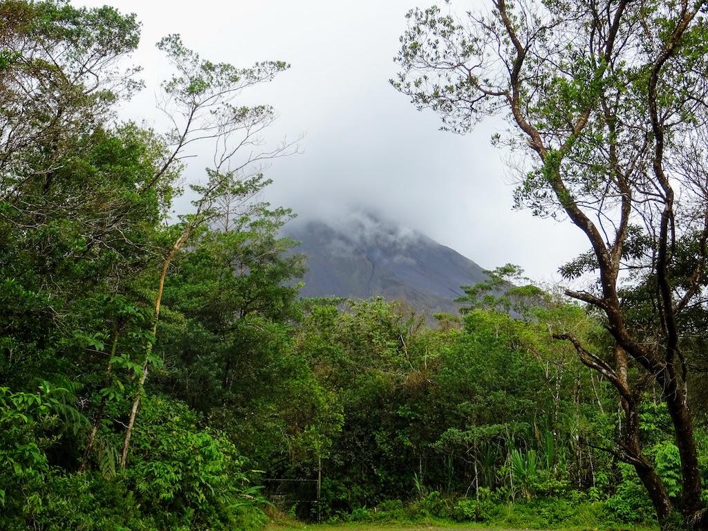 Costa Rica Arenal La Fortuna volcano view 1