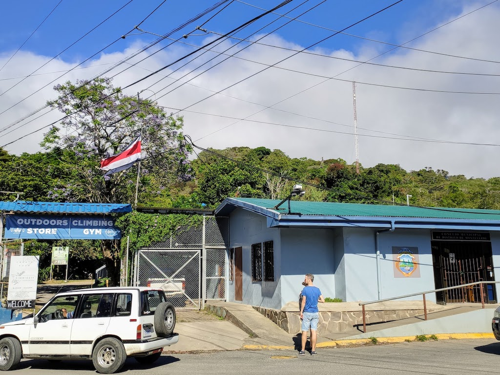 Costa Rica Monteverde San Elena rue 1