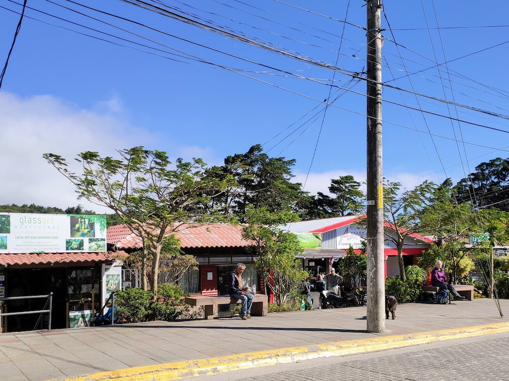 Costa Rica Monteverde San Elena rue 2