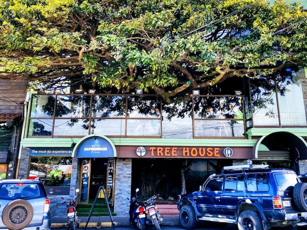 Costa Rica Monteverde San Elena maison arbre