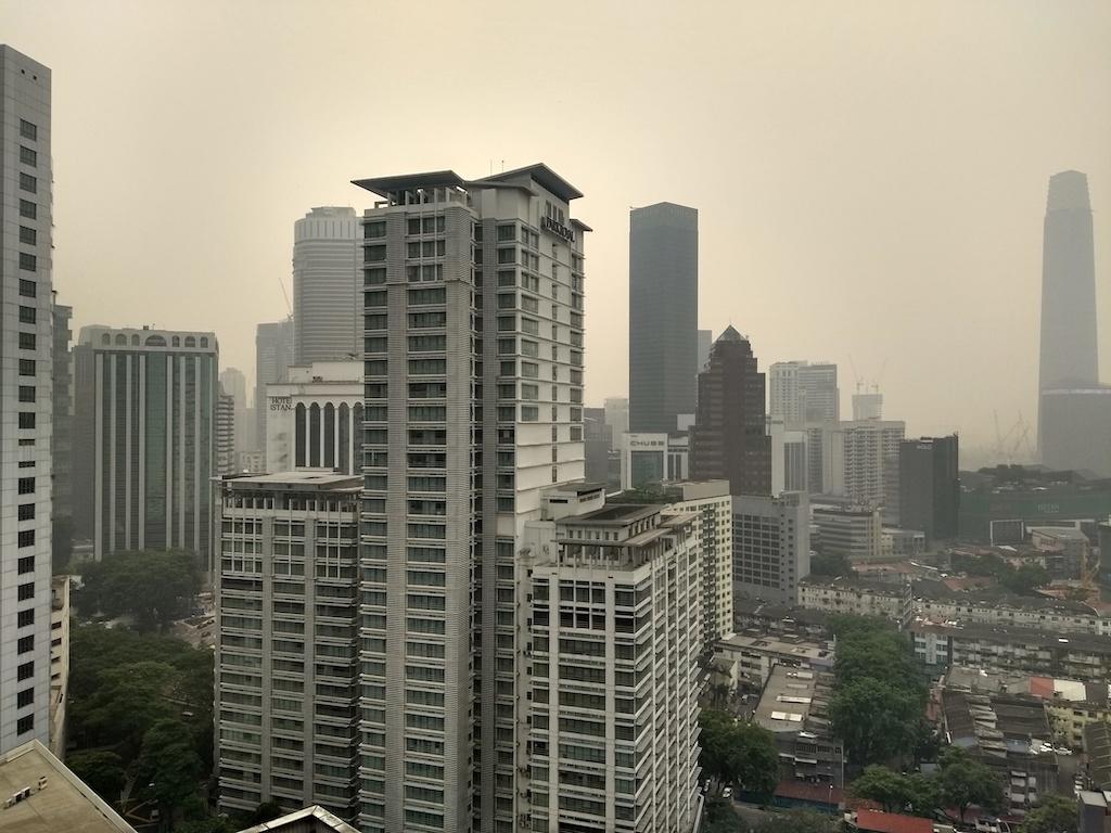 Malaisie Kuala Lumpur Haze Pollution