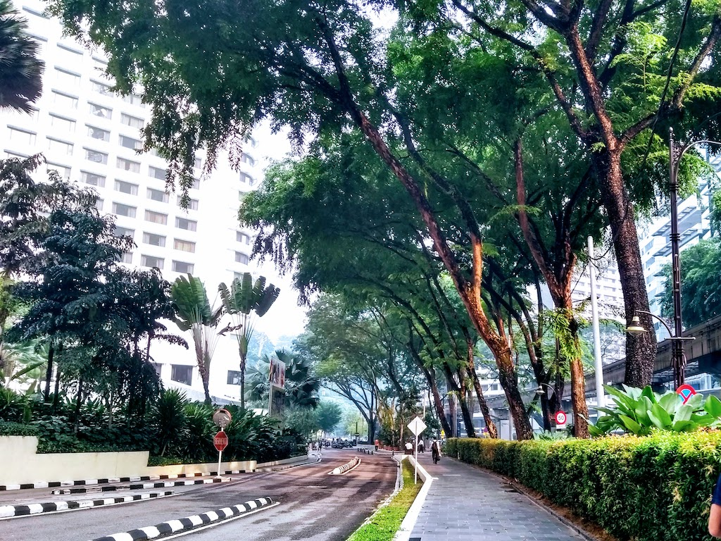 Malaisie Kuala Lumpur rue