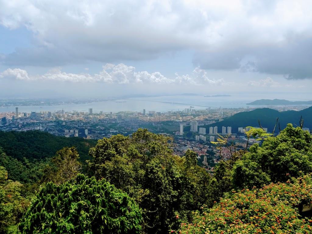 Malaisie Penang GeorgeTown hill vue1