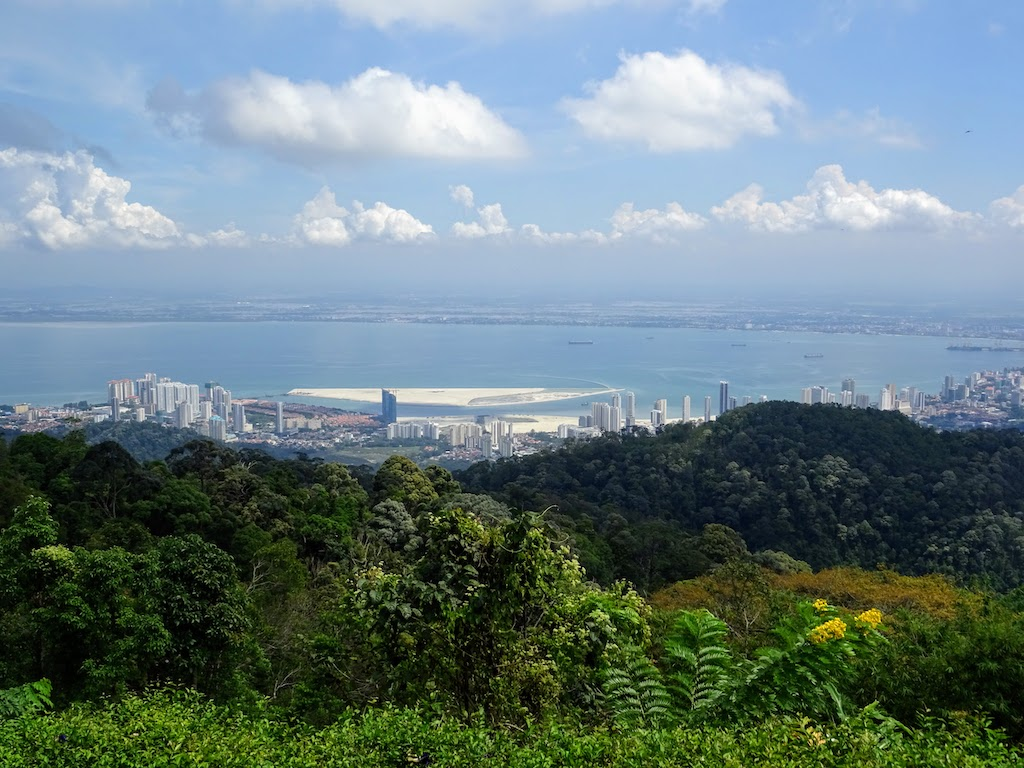 Malaisie Penang Hill vue de la mer