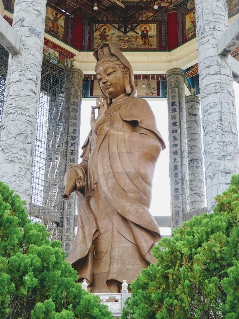 Malaisie Penang Kek Lok Si statue misericorde
