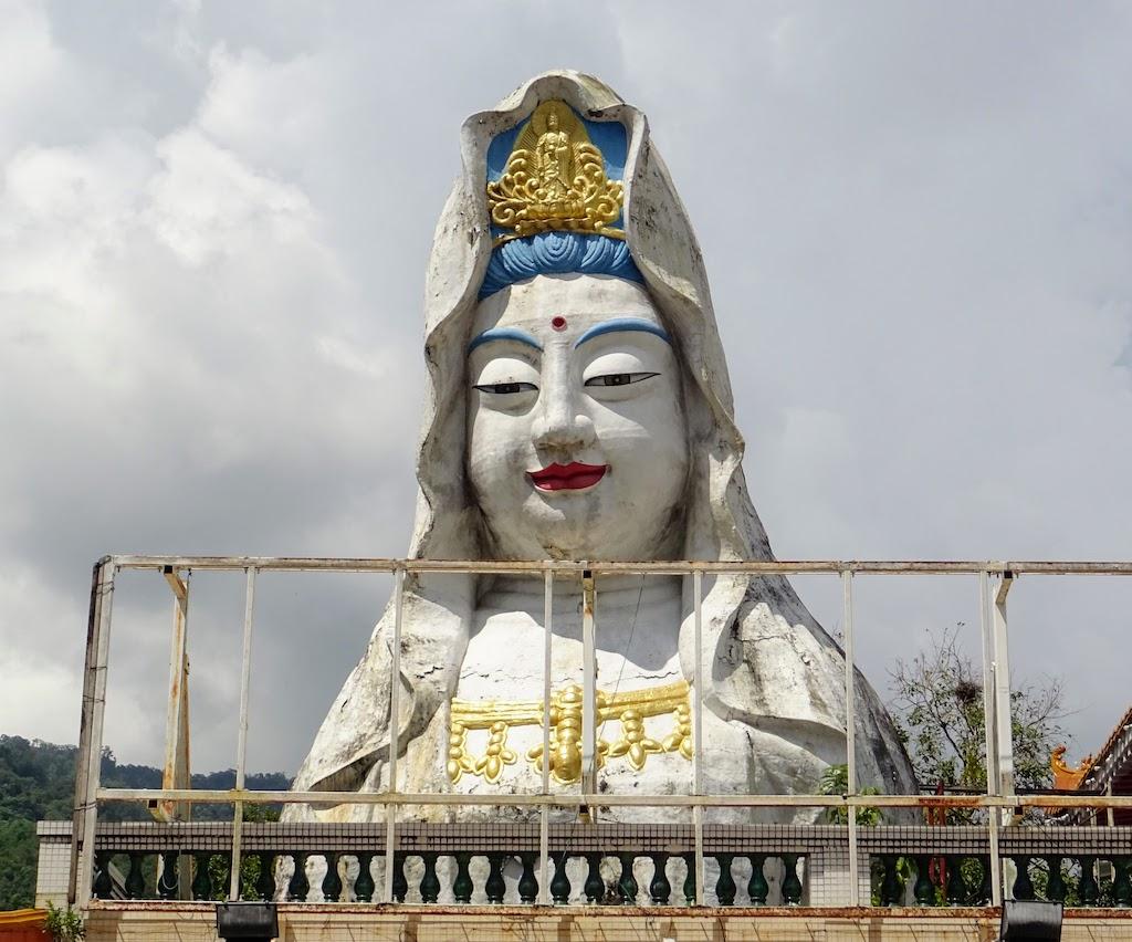 Malaisie Penang Kek Lok Si statue shiva tête