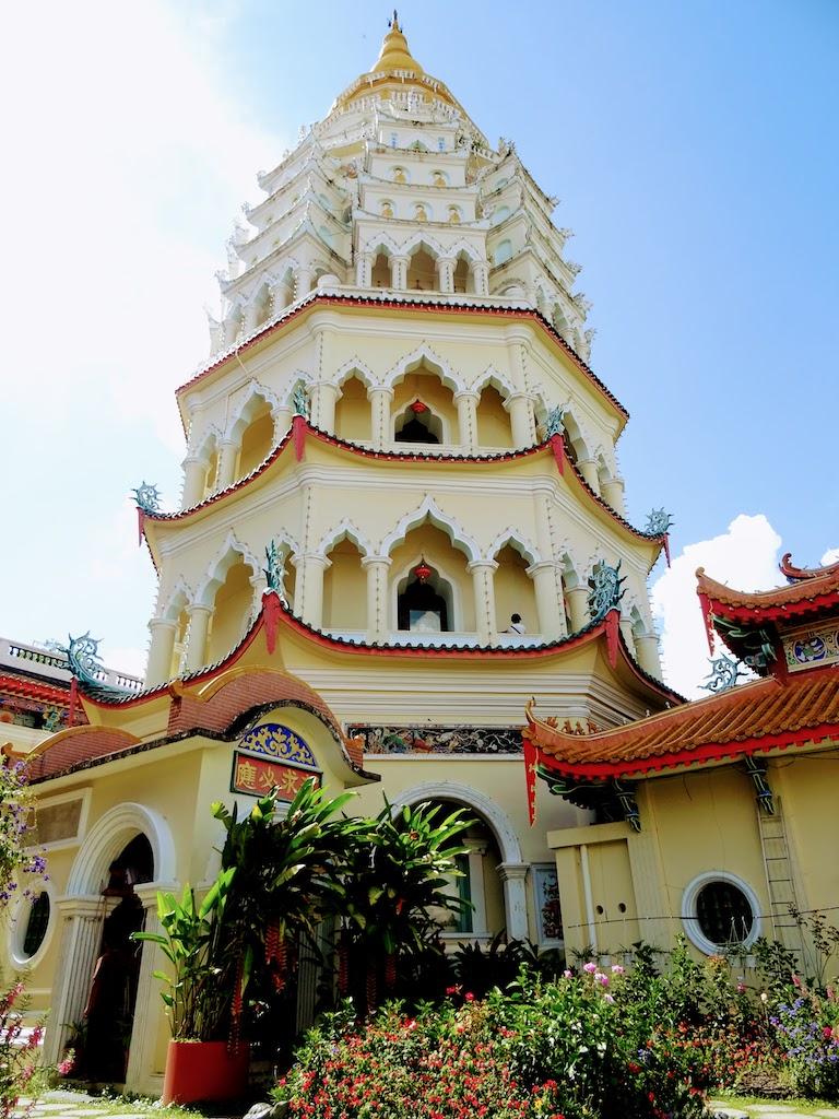 Malaisie Penang Kek Lok Si temple Pagode million Bouddhas