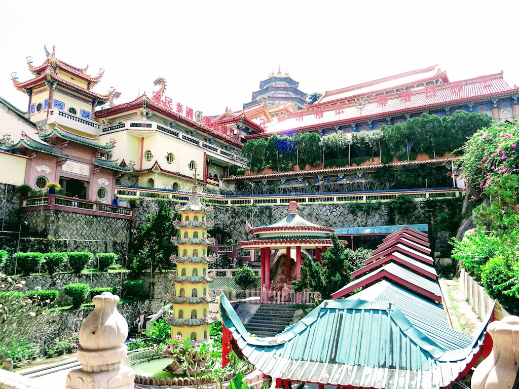 Malaisie Penang Kek Lok Si temple vue principale