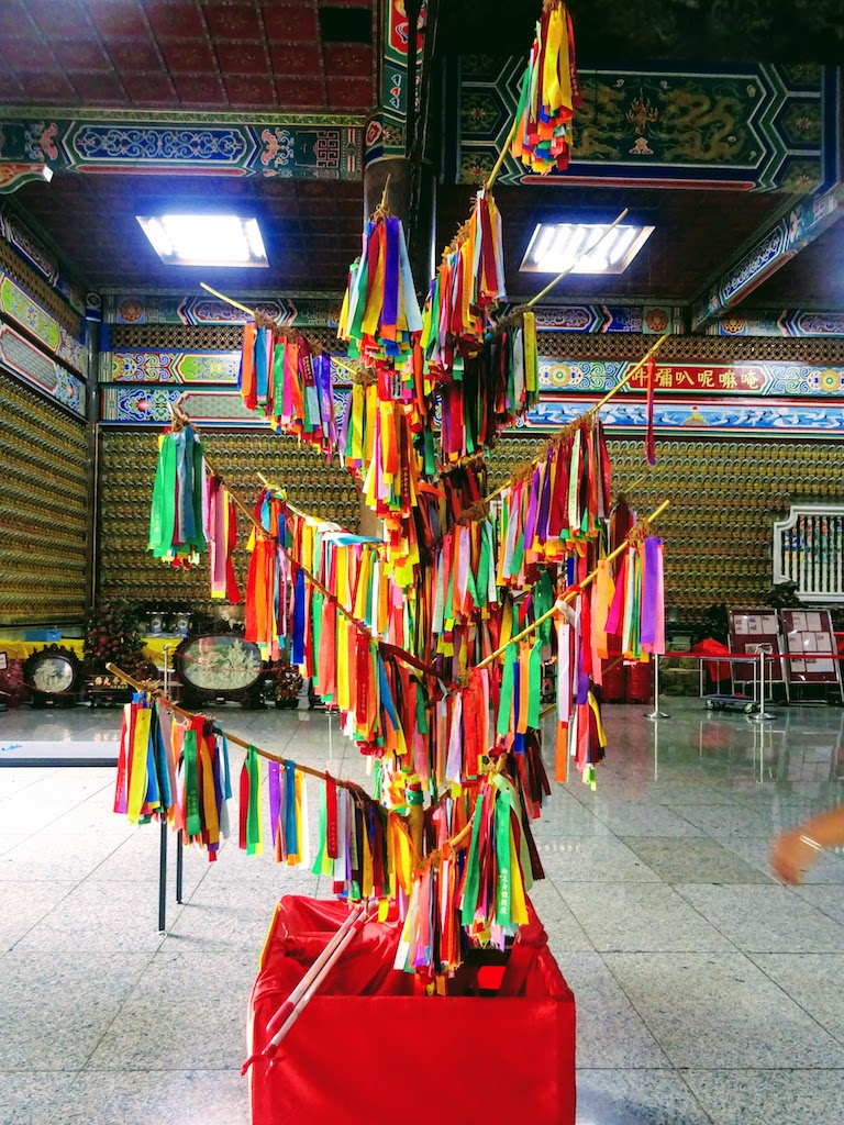 Malaisie Penang Kek Lok Si temple arbre voeux