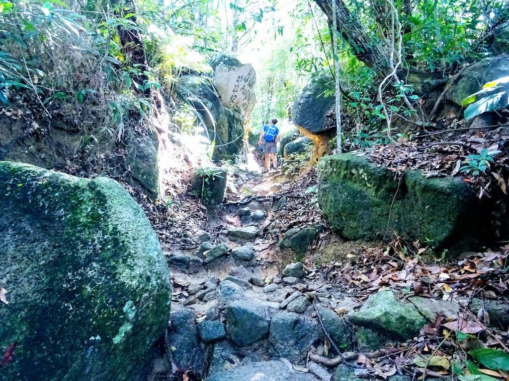 Malaysia Penang National park climb