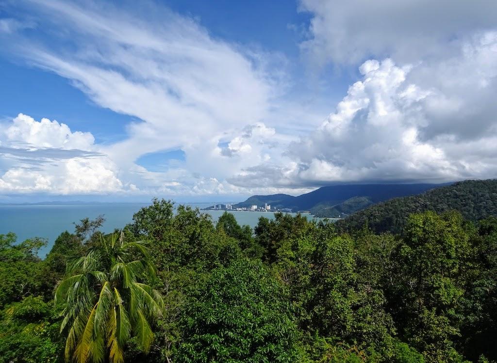 Malaysia Penang National park lighthouse view