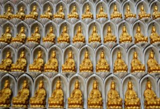 Malaisie Penang Kek Lok Si 10000 buddhas