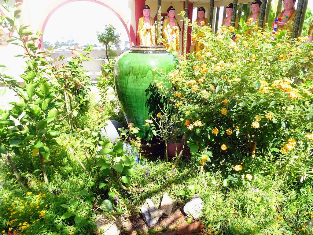 Malaisie Penang Kek Lok Si jardin bouddhas