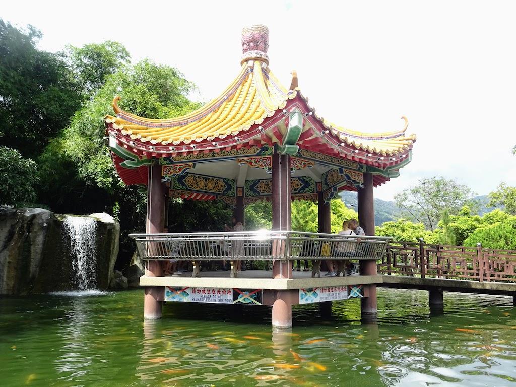 Malaisie Penang Kek Lok Si pagode sur eau