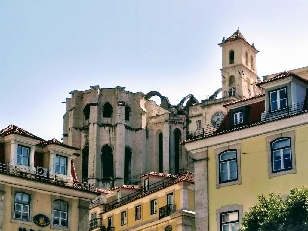 Portugal Lisbonne Carmo Convent dos