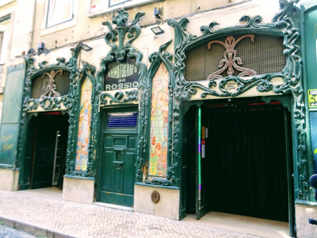 Portugal Lisbonne Cinema Rossio