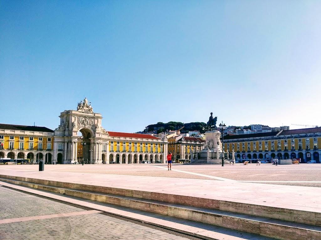 Portugal Lisbonne Commerce place vue