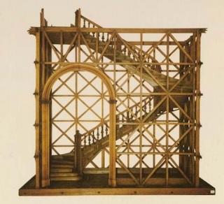 Portugal Lisbonne Pombal cage