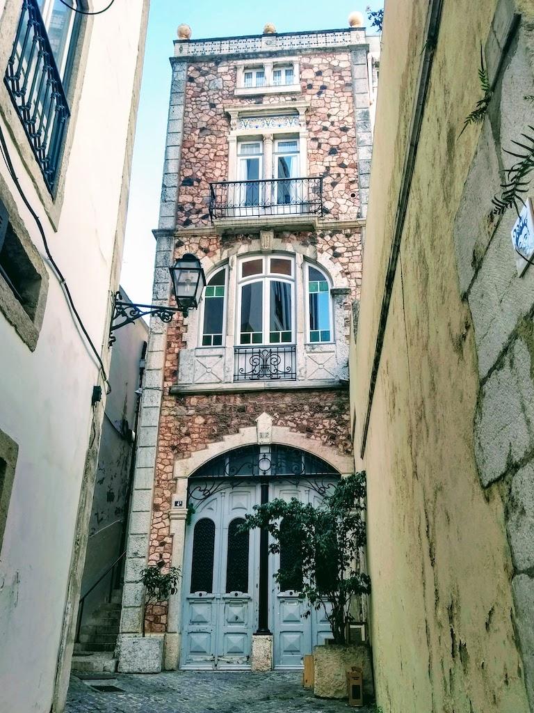 Portugal Lisbonne maison vieille ville