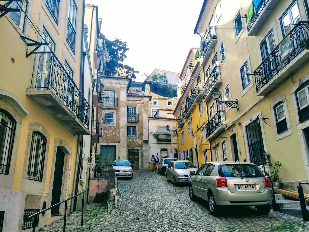 Portugal Lisbonne rue vieille ville