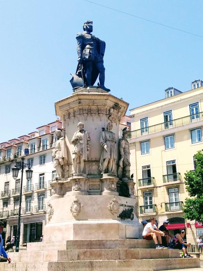 Portugal Lisbonne plaza Camoes