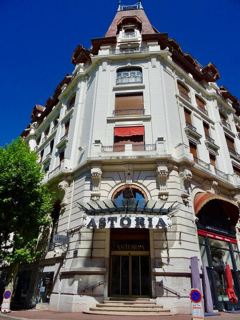 France Aix Les Bains Astoria front