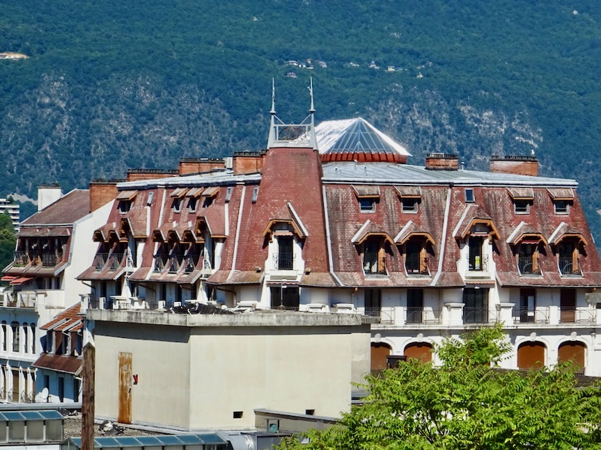 France Aix Les Bains Astoria roof