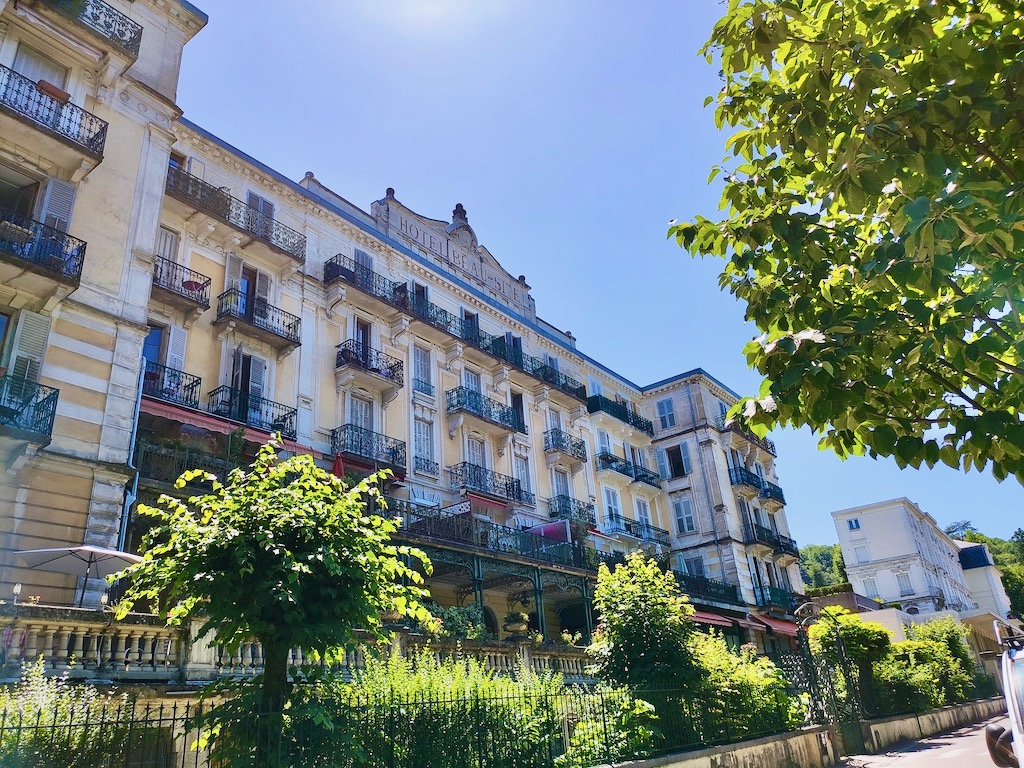 France Aix Les Bains Beau site hotel front
