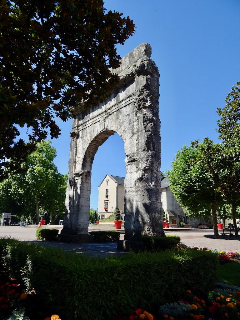France Aix Les Bains Campanus Arch