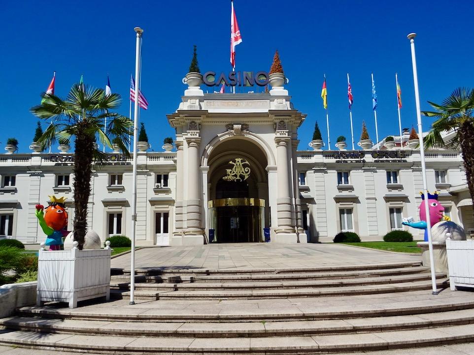 France Aix Les Bains Casino front