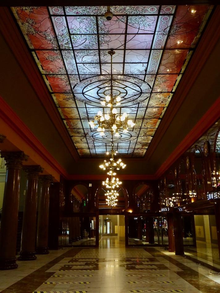 France Aix Les Bains Casino hallway
