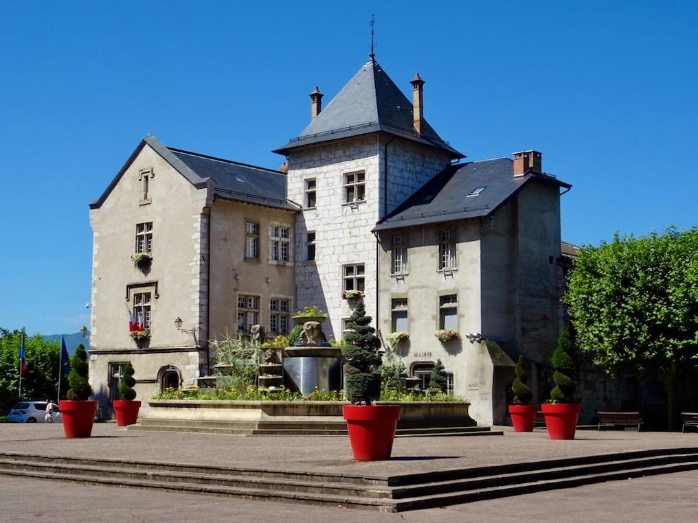 France Aix-Les-Bains City hall