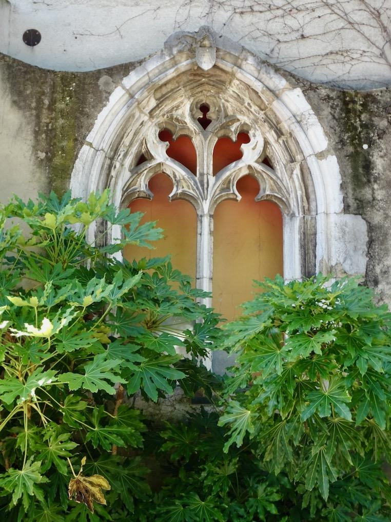 France Aix Les Bains Diana temple window