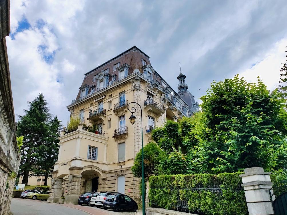 France Aix-Les-Bains Excelsior hotel front