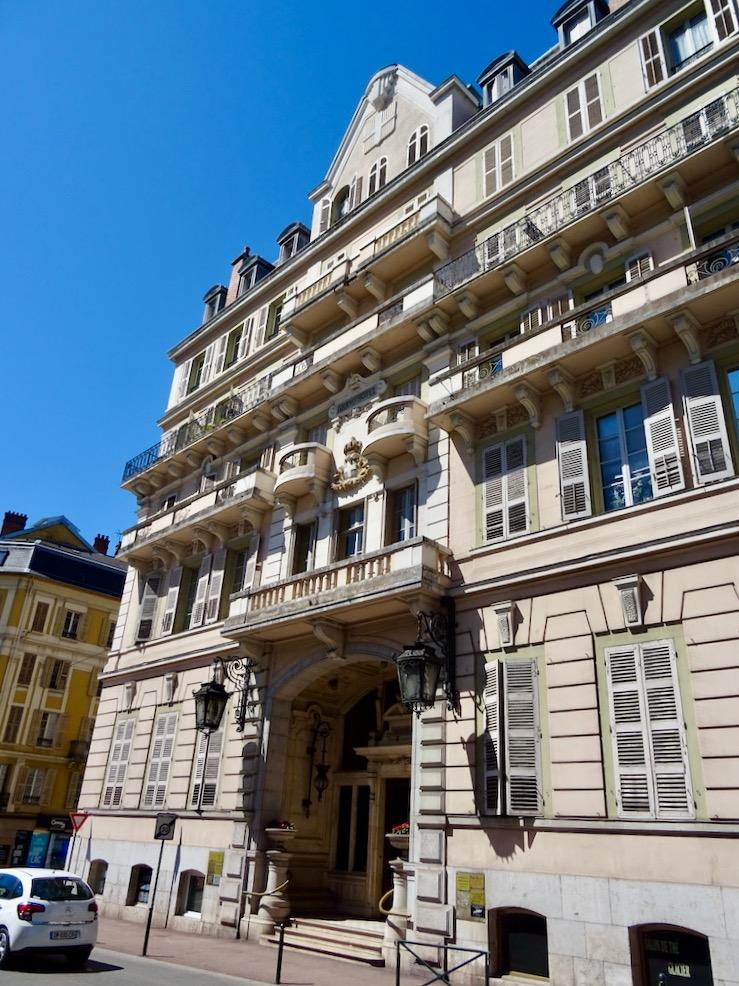 France Aix Les Bains Le Grand hotel facade