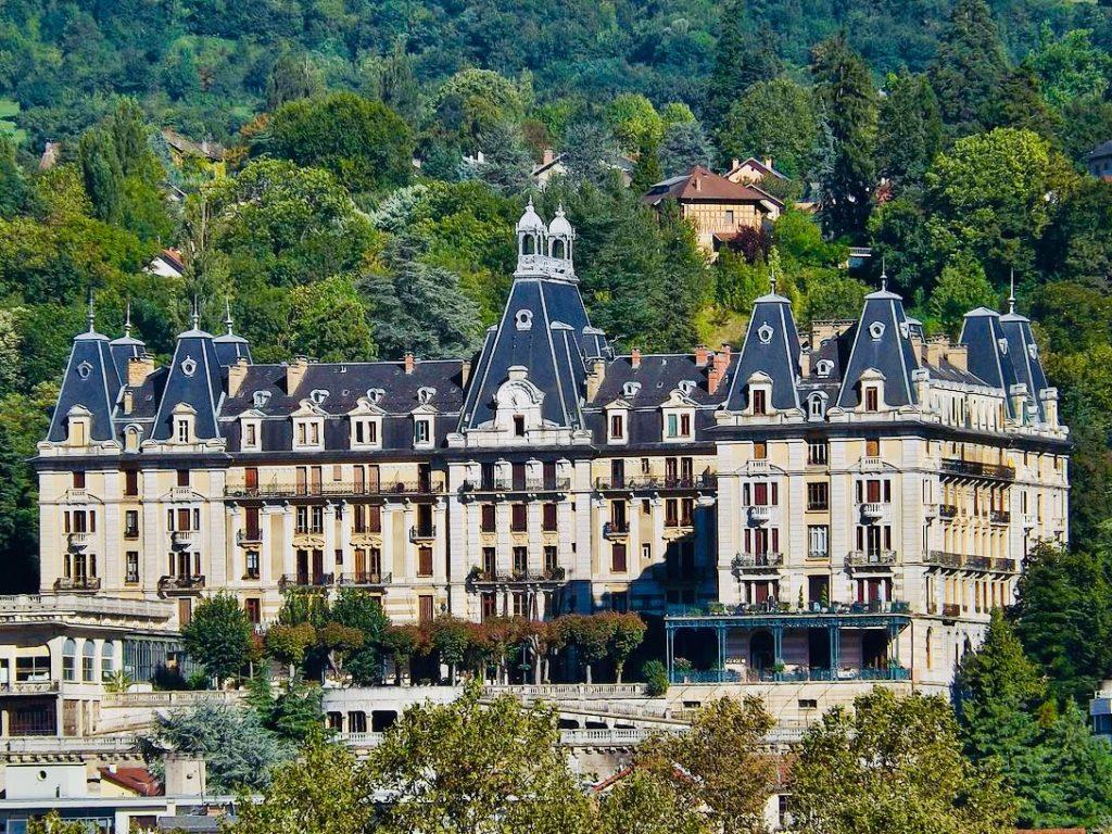 France Aix les Bains Bernascon hotel