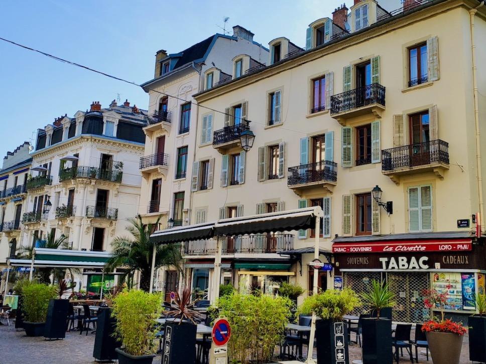 France Aix-les-Bains Place Carnot