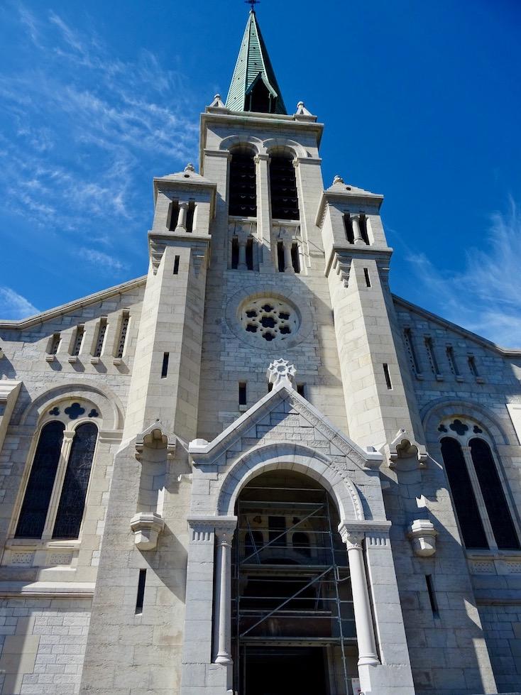 France Aix les Bains Church