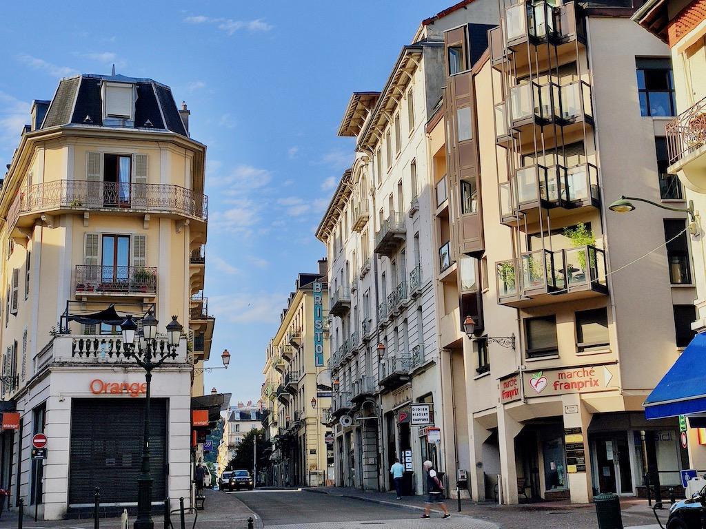 France Aix-Les-Bains centre ville rue du casino