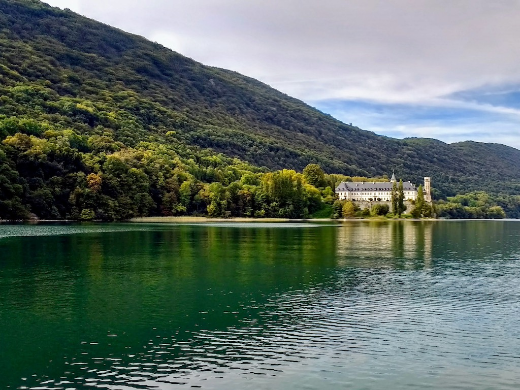 France Aix les Bains Hautecombe Abbey