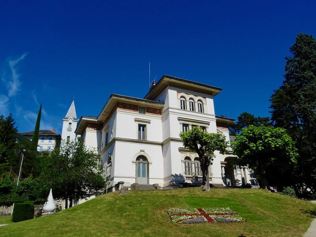 France Aix les Bains Museum Faure house