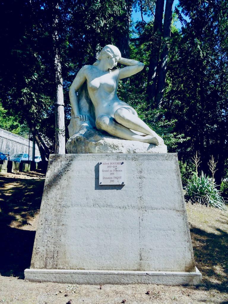 France Aix les Bains Museum Faure nude
