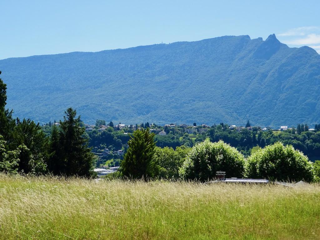 France Aix Les Bains tresserve hill