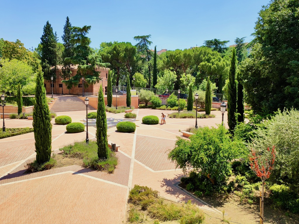 Madrid Moors wall garden